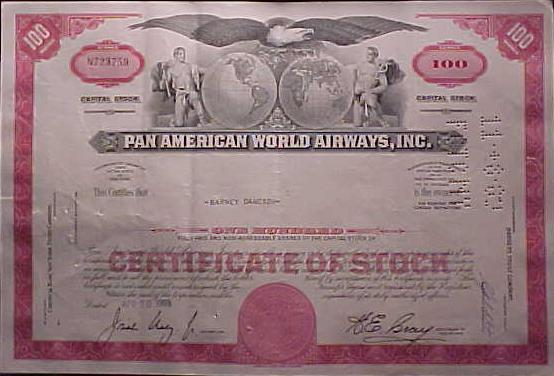 Pan Am American World Airways