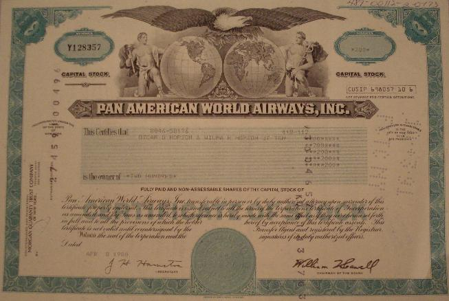 Pan American World Airways Pan Am