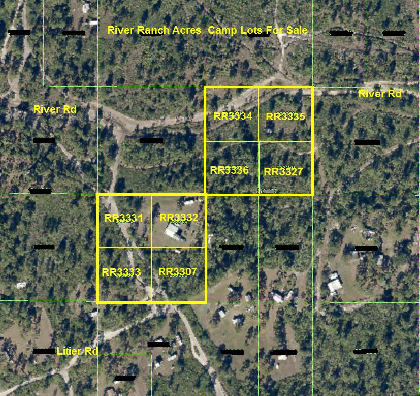 River Ranch Acres RRPOA Camp lots for sale