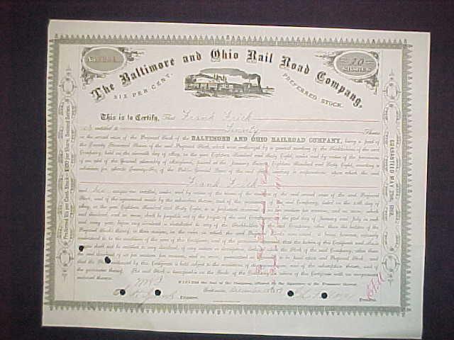 old stock and bond certificates for sale by eoldstocks. Black Bedroom Furniture Sets. Home Design Ideas